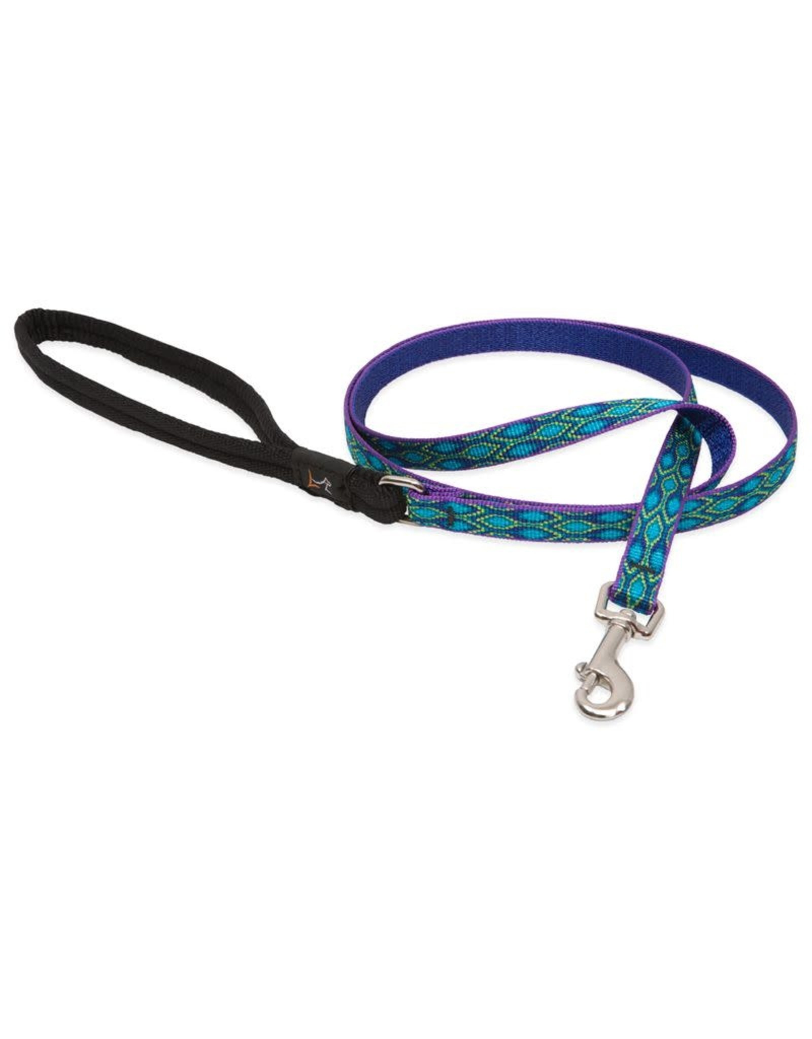 Lupine Lupine Rain Song Leash: 1 in wide, 6 ft