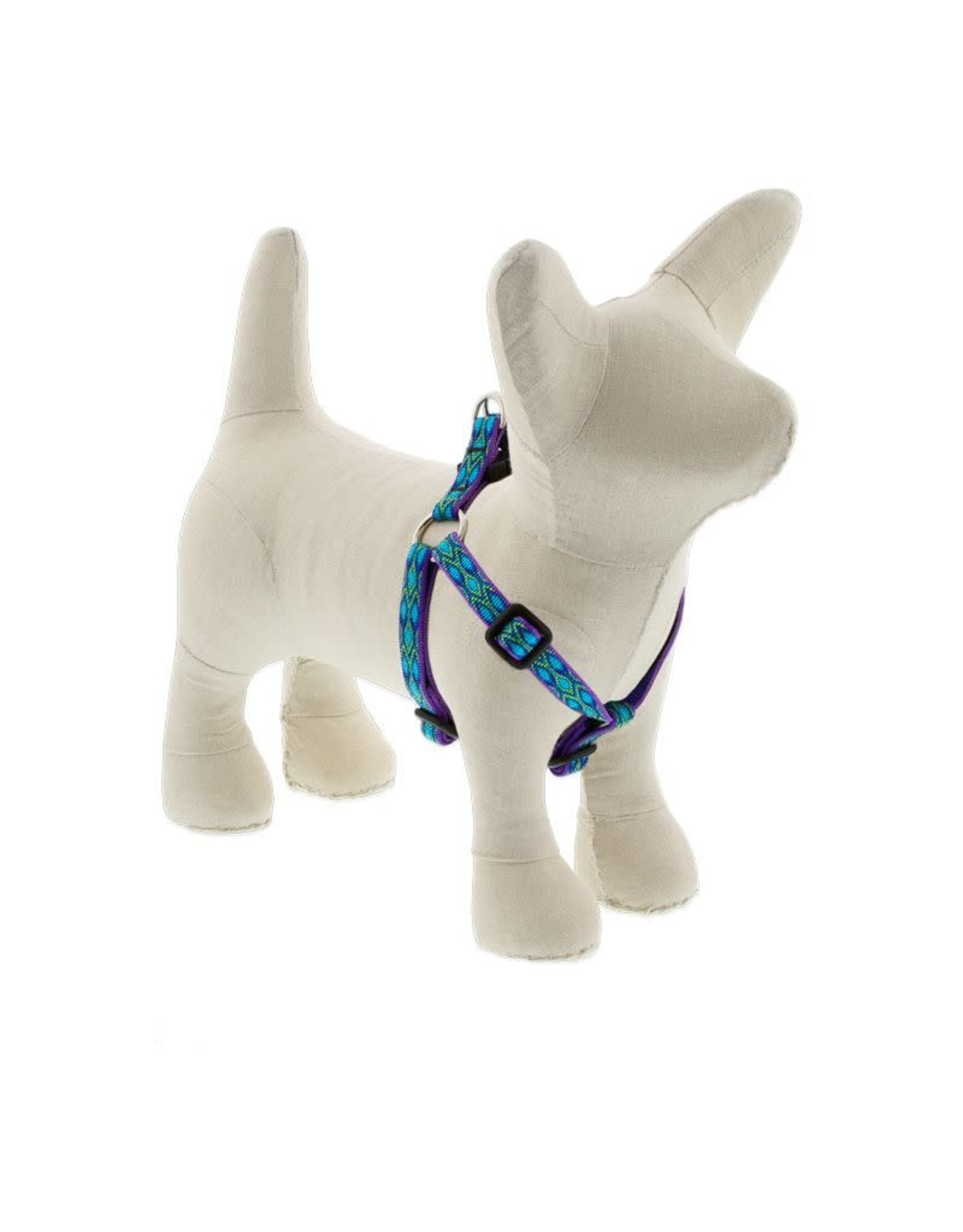 Lupine Lupine Step In Harness Rain Song: 3/4 in wide, 15-21 inch
