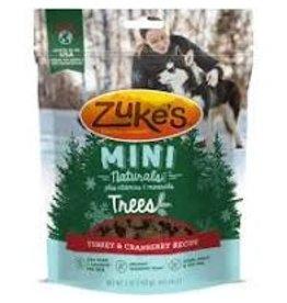 Zukes Mini Naturals Trees: Turkey & Cranberry, 6 oz