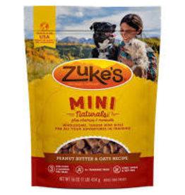 Zukes Zuke's Mini Naturals: Peanut Butter, 6 oz