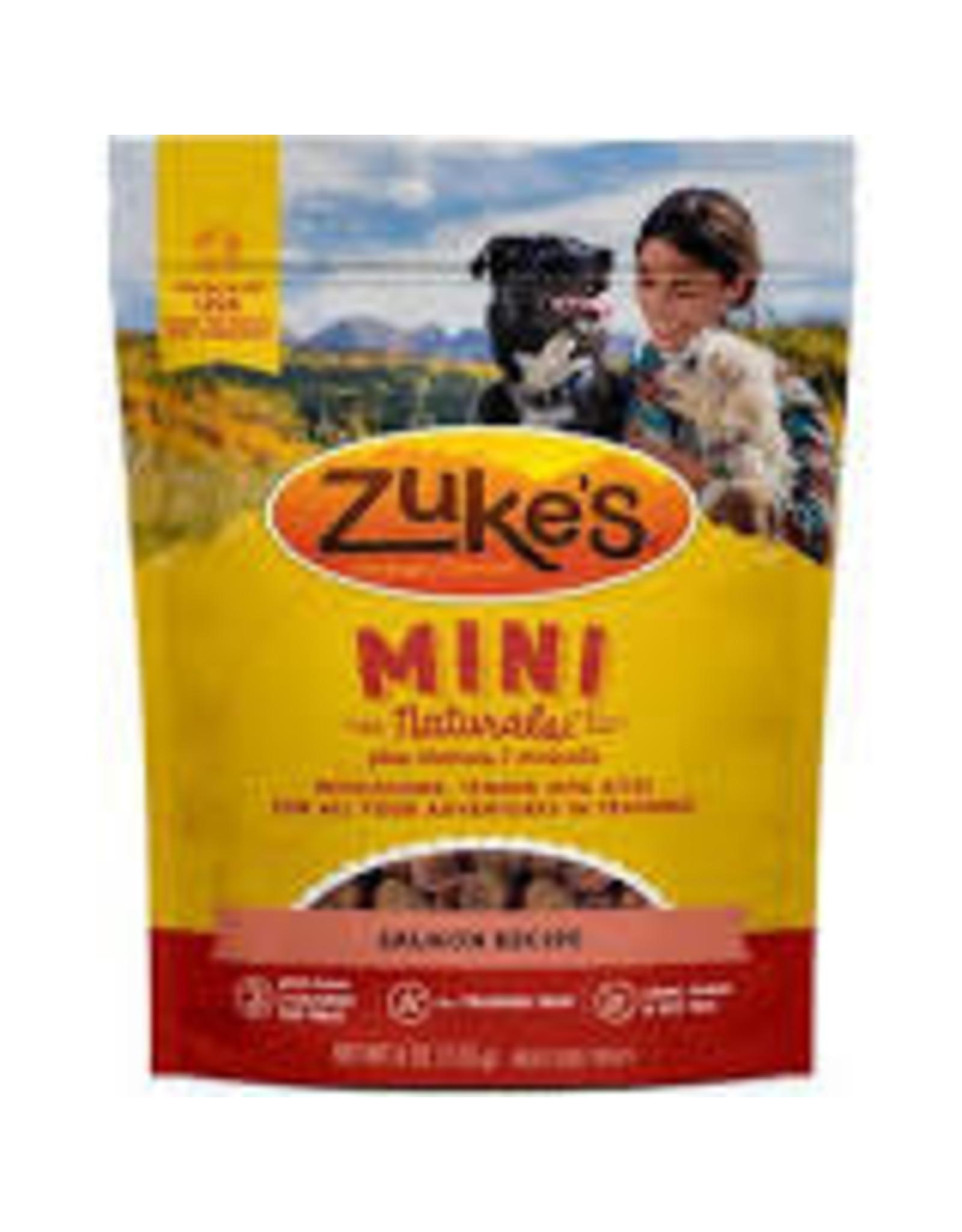 Zukes Zuke's Mini Naturals: Salmon, 6 oz