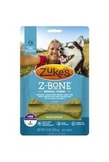 Zukes Zuke's Z-Bone Apple Crisp: 6 ct pouch, L