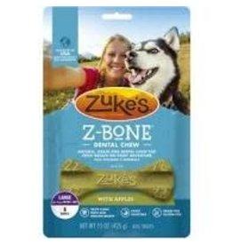 Zukes Zuke's Z-Bone Apple Crisp: 6 ct pouch, L
