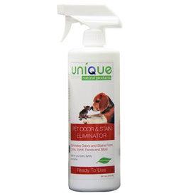 Unique Natural Products Unique Pet Odor and Stain Eliminator: Spray, 24 oz