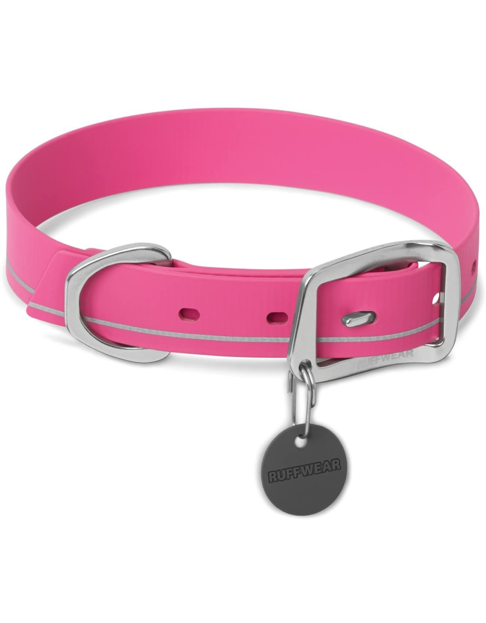 Headwater Collar: Alpenglow Pink, 14 - 17 inch