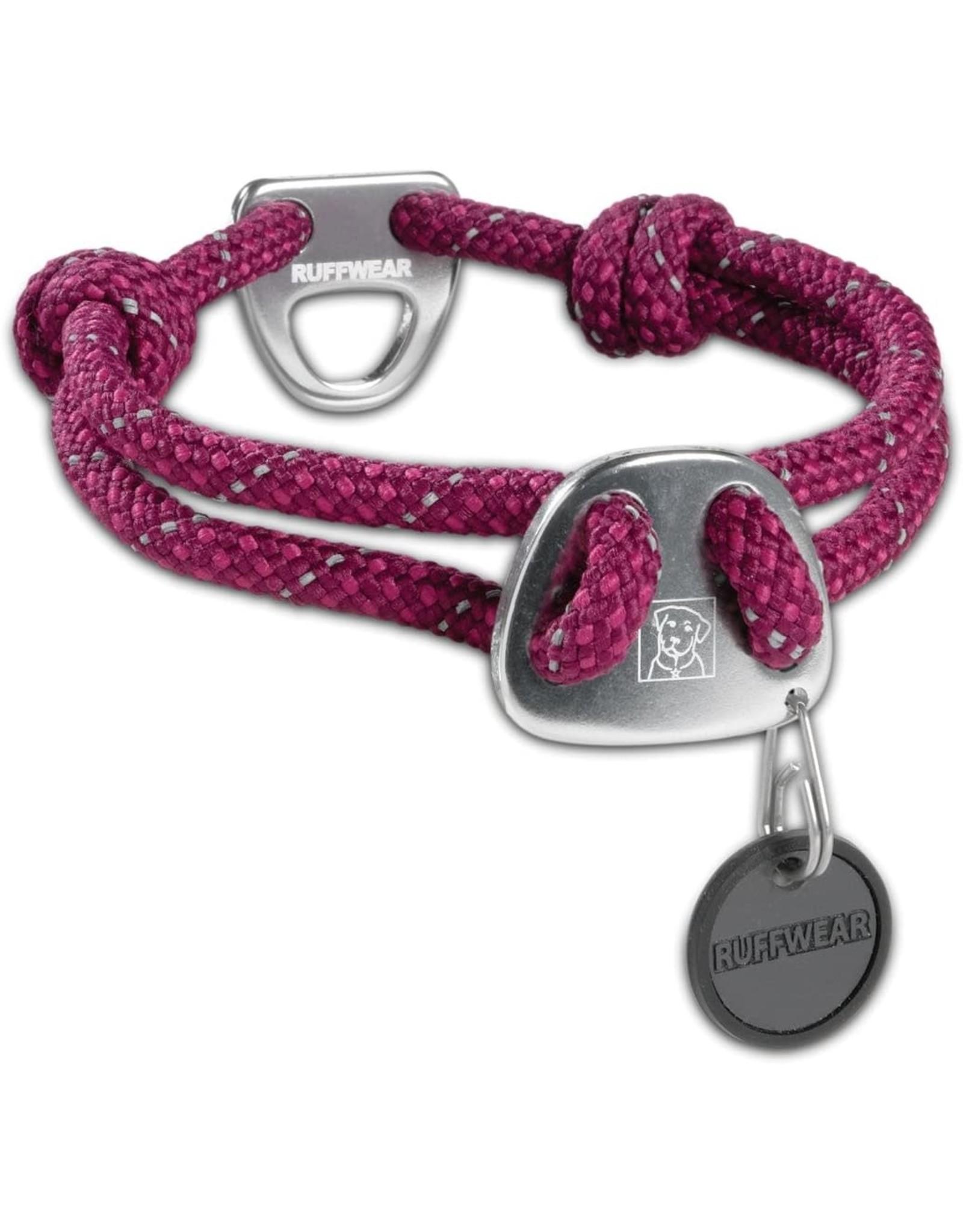 Knot-a-Collar: Purple Dusk, L