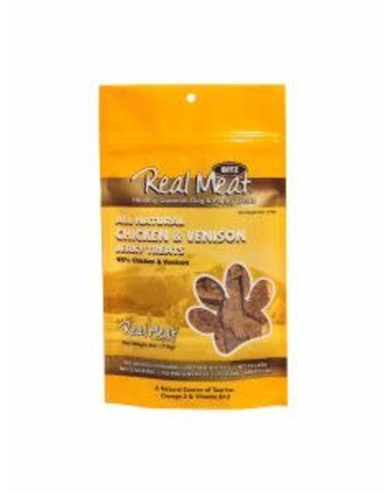 The Real Meat Company Real Meat Jerky Treats: Chicken & Venison