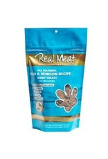 The Real Meat Company Real Meat Jerky Treats: Fish & Venison
