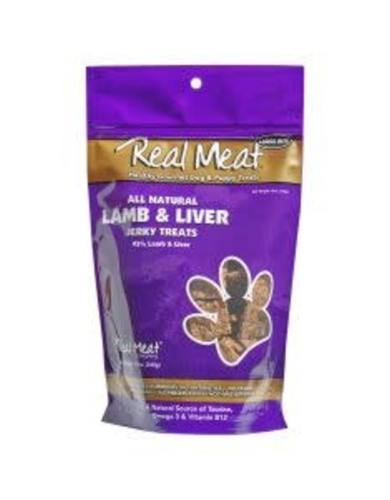 The Real Meat Company Real Meat Jerky Treats: Lamb & Liver