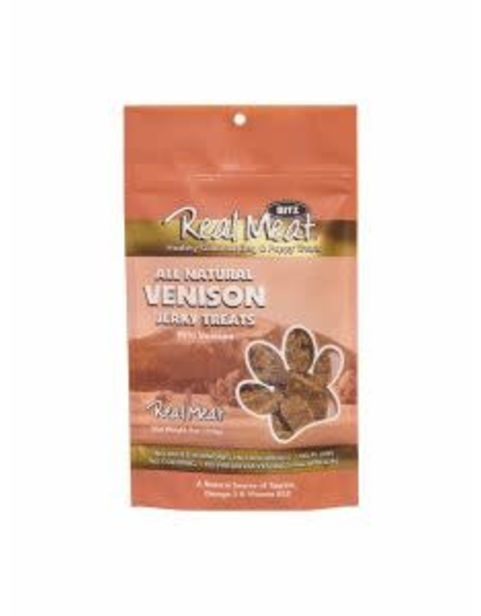 The Real Meat Company Real Meat Jerky Treats: Venison