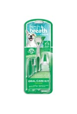 Tropiclean Fresh Breath Oral Care Kit: Small Toothbrush & Brushing Gel, Small