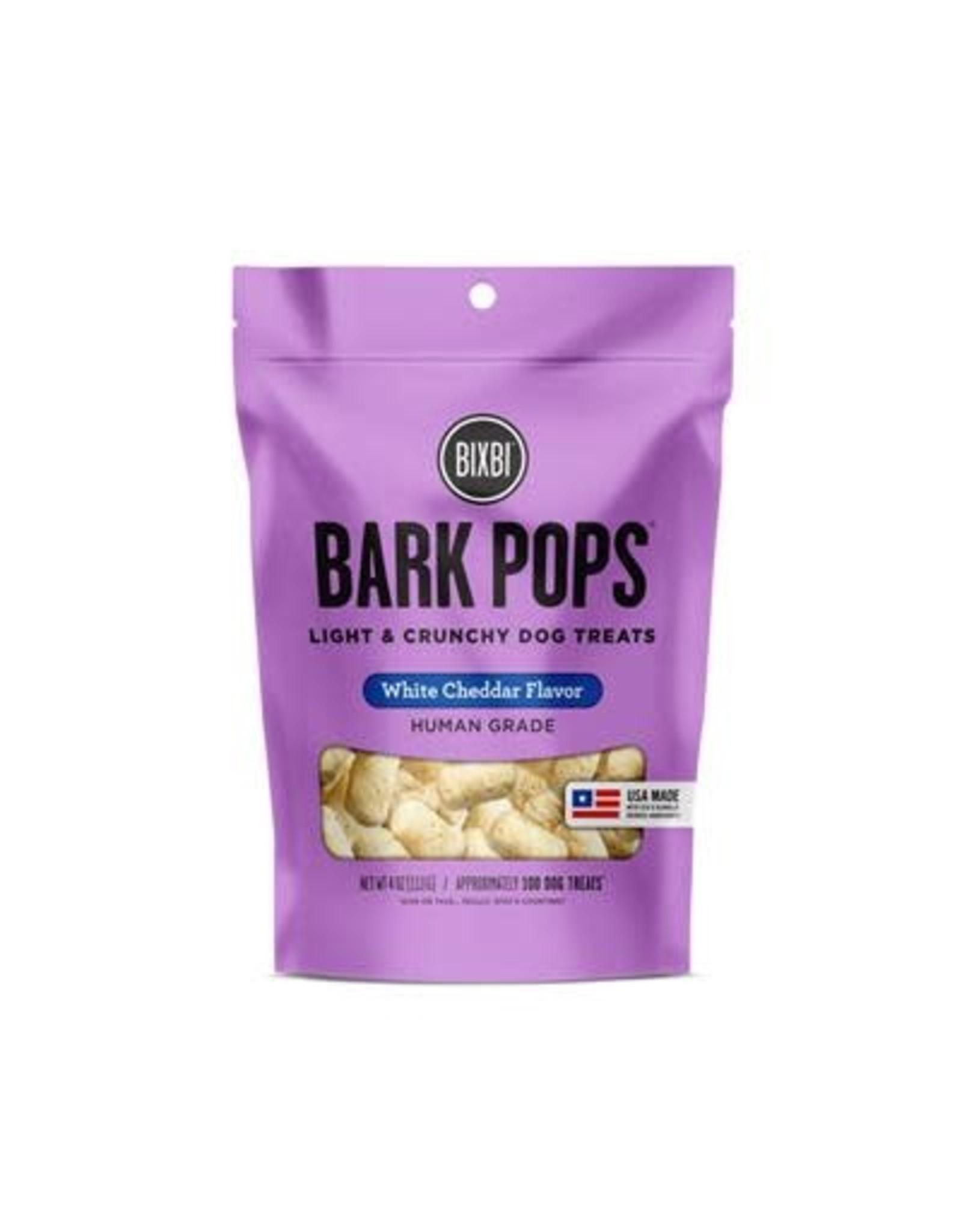 Bixbi Bixbi Bark Pops: White Cheddar, 4oz