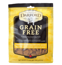 Darford Darford Grain Free Treats: Cheddar Cheese Minis, 12oz