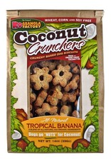 K9 Granola Factory K9 Granola Factory Coconut Crunchers: Tropical Banana, 14 oz