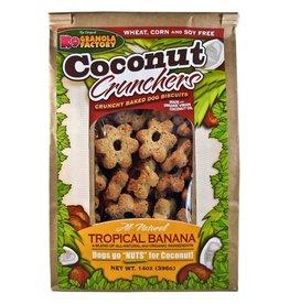K9 Granola Factory K9 Granola Factory Coconut Crunchers: Tropical Banana, 14 oz