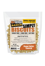 K9 Granola Factory K9 Granola Factory Simply Biscuits Small: Peanut Butter, 16 oz