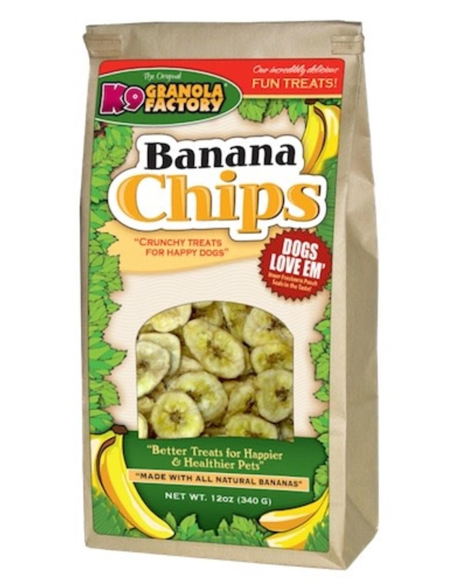 K9 Granola Factory K9 Granola Factory: Banana Chips, 12 oz