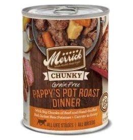 Merrick Merrick Chunky Pappy's Pot Roast: Can, 12.7oz.