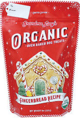 Grandma Lucy's Organic Holiday Gingerbread Treats:, 8 oz