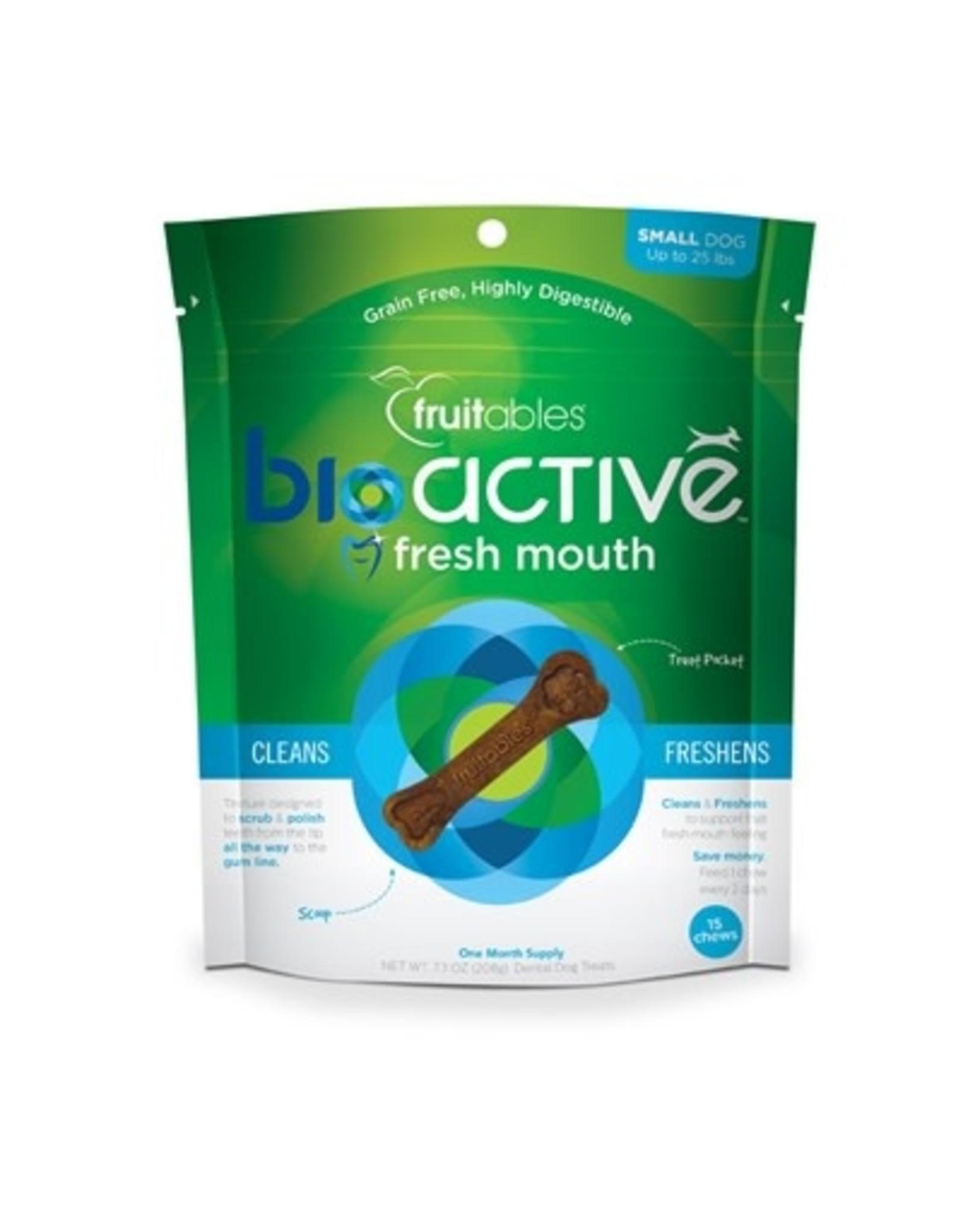 Fruitables Bioactive Dental Chew: Small, 15 ct