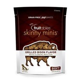 Fruitables Fruitables Skinny Minis: Grilled Bison, 5 oz