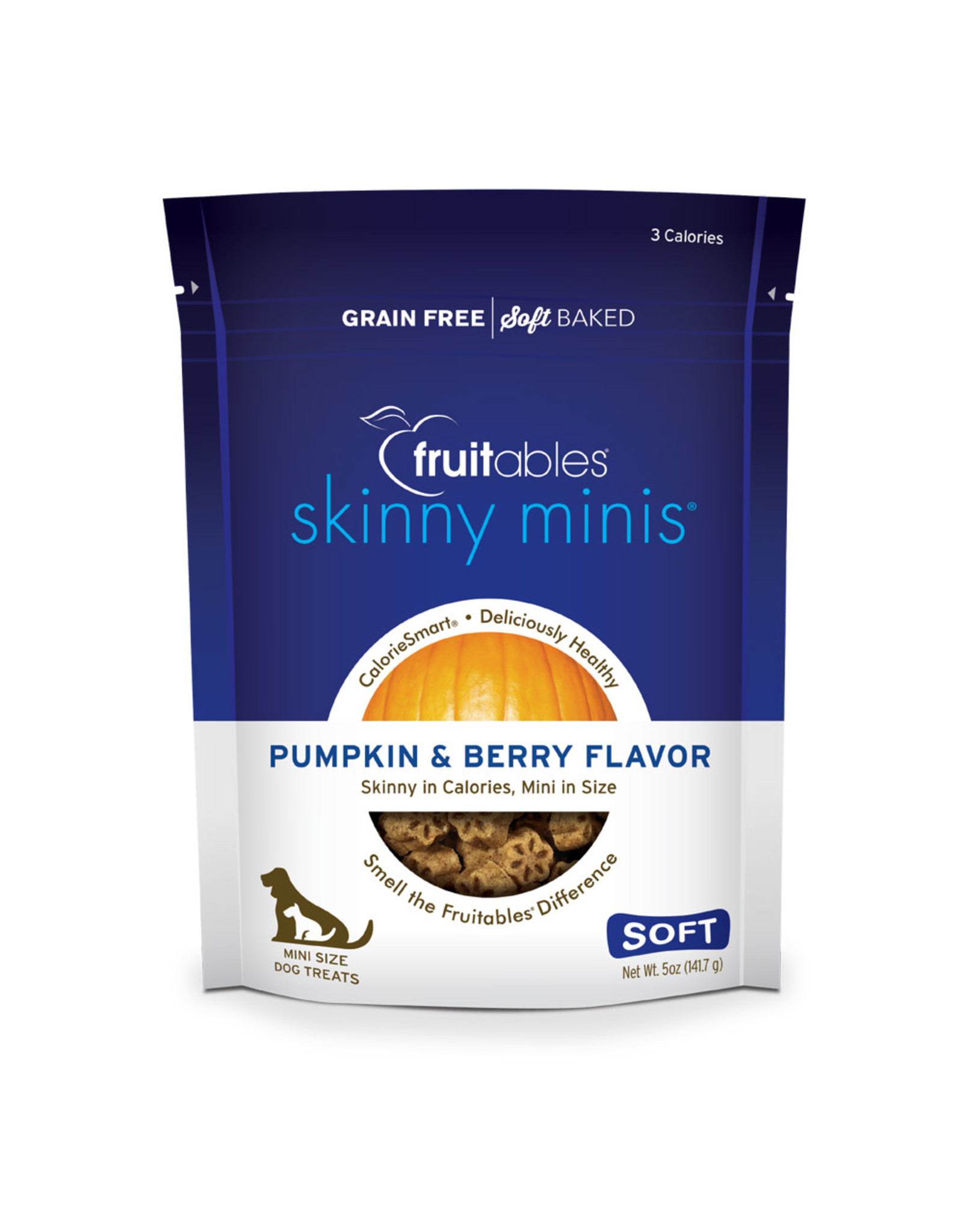 Fruitables Fruitables Skinny Minis: Pumpkin & Berry, 5 oz