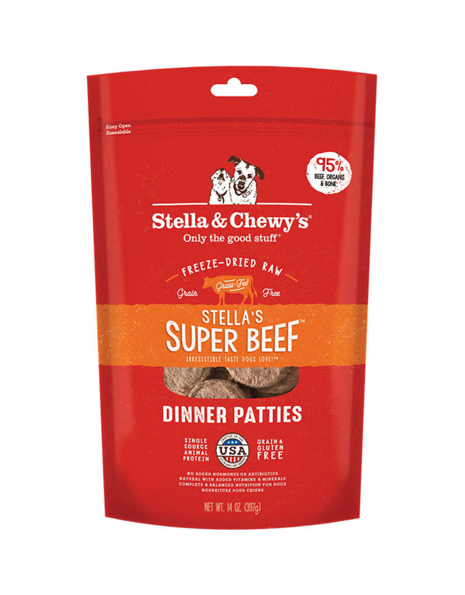 Stella & Chewy's Stella & Chewy's: Freeze Dried Beef Dinner, 14 oz