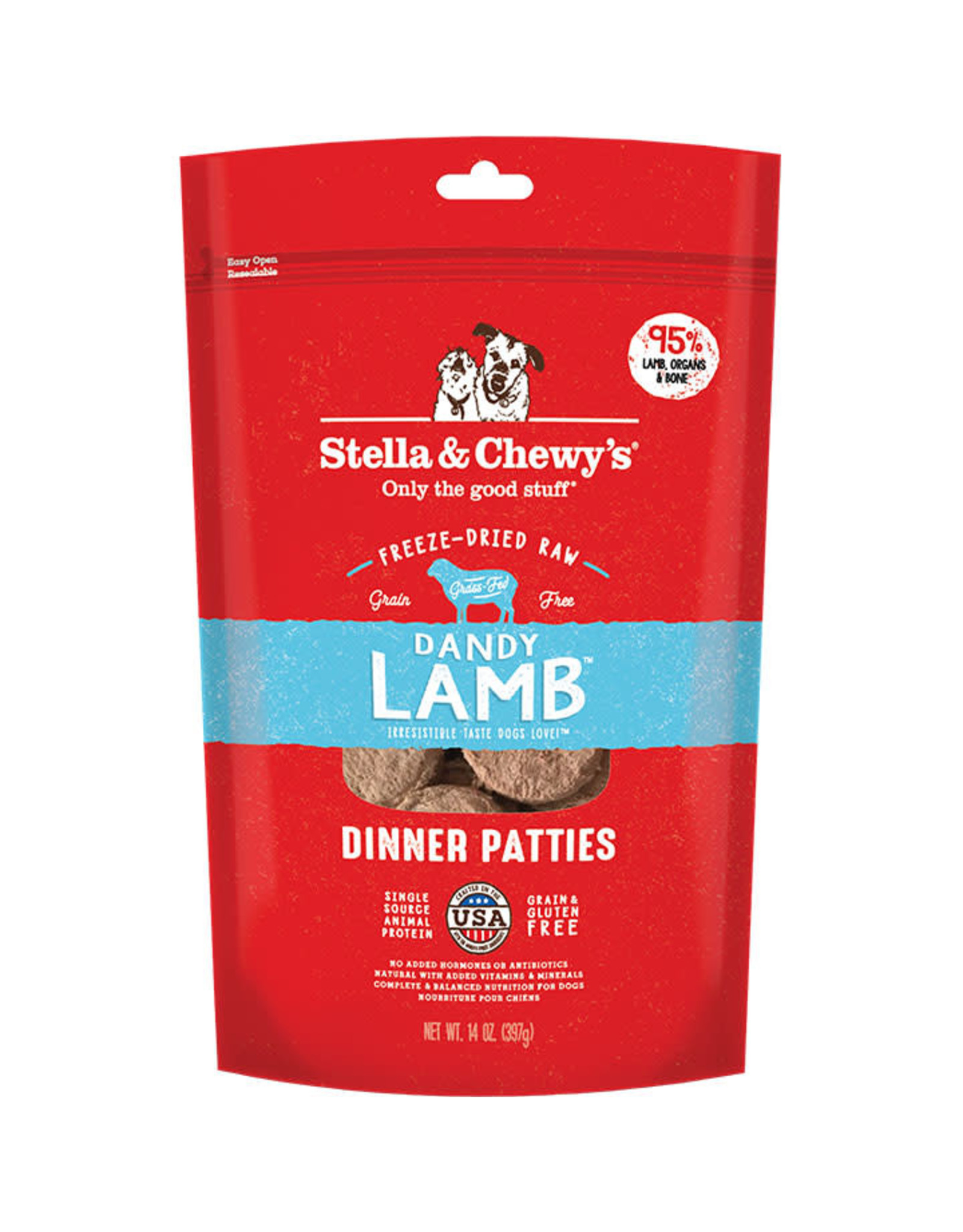 Stella & Chewy's Stella & Chewy's: Freeze Dried Lamb Dinner, 14 oz