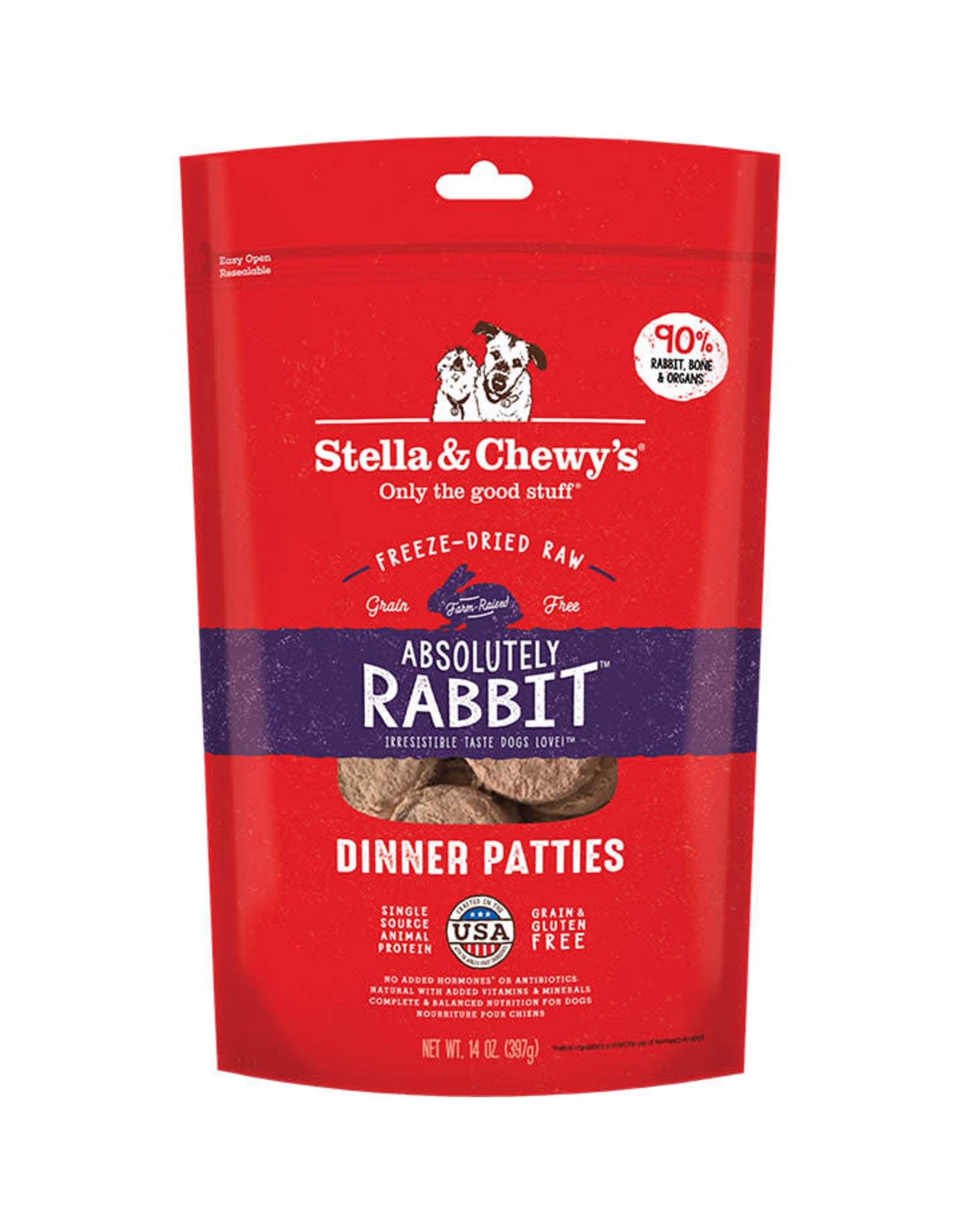 Stella & Chewy's Stella & Chewy's: Freeze Dried Rabbit Dinner, 14 oz