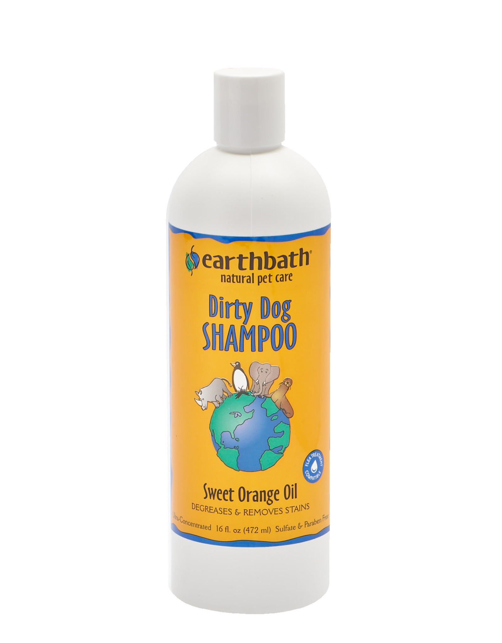 Earthbath Earthbath Shampoo: Orange Oil, 16oz