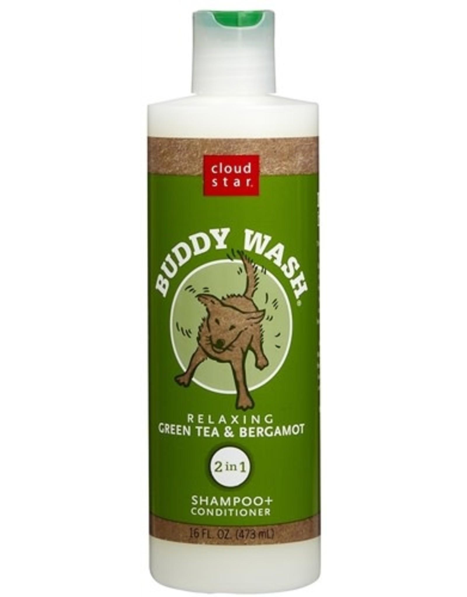 Cloud Star Buddywash: Green Tea & Bergamot Shampoo, 16 oz