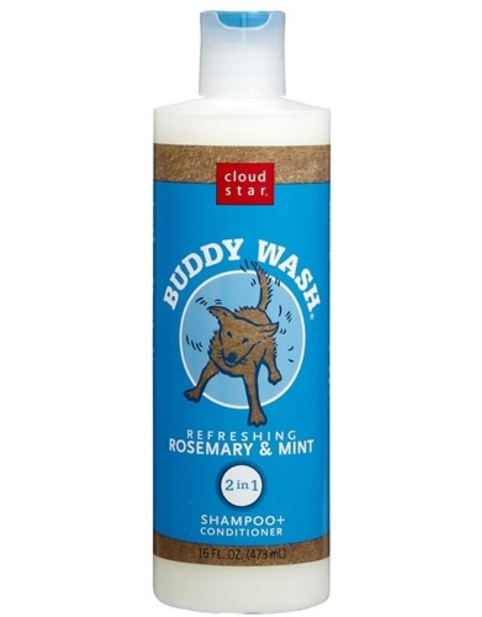 Cloud Star Buddywash: Rosemary & Mint Shampoo, 16 oz