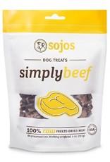 Sojos Sojos Simply Beef: Freeze Dried, 4oz
