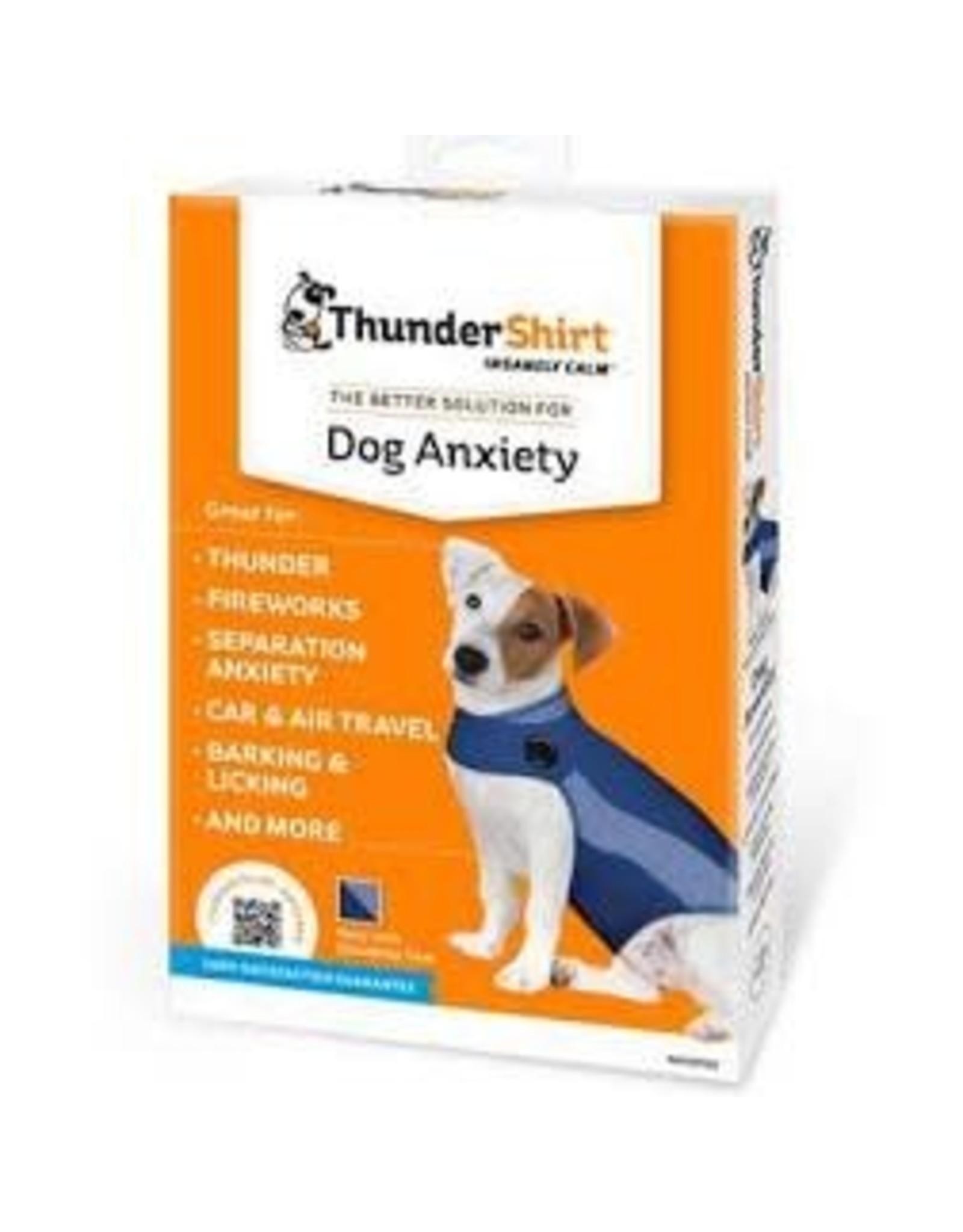 Thunderworks Thundershirt: Blue Polo, XS