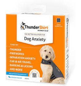 Thunderworks Thundershirt: Grey, XS