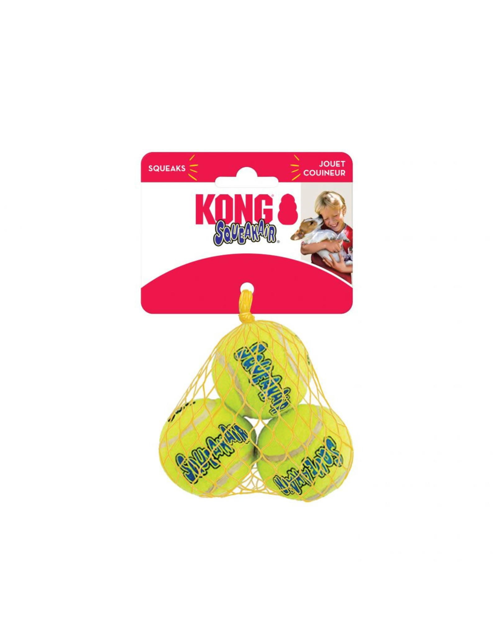 Kong Kong Air Squeaker Ball: 3pk., S