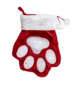 Kong Kong Holiday Stocking: Paw Shaped, L