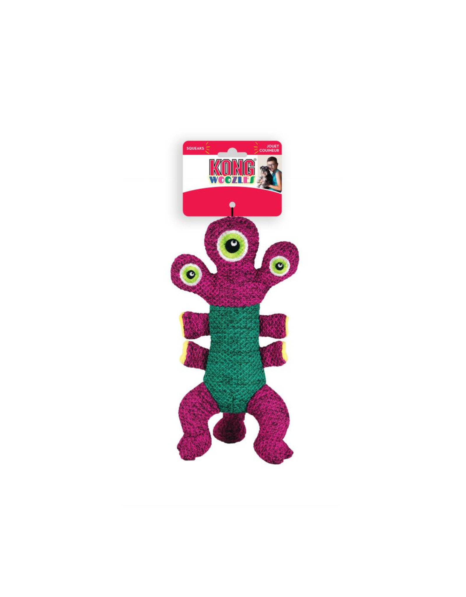 Kong Kong Woozles: Pink, M