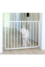 Cardinal Gates Autolock Gate: White, os