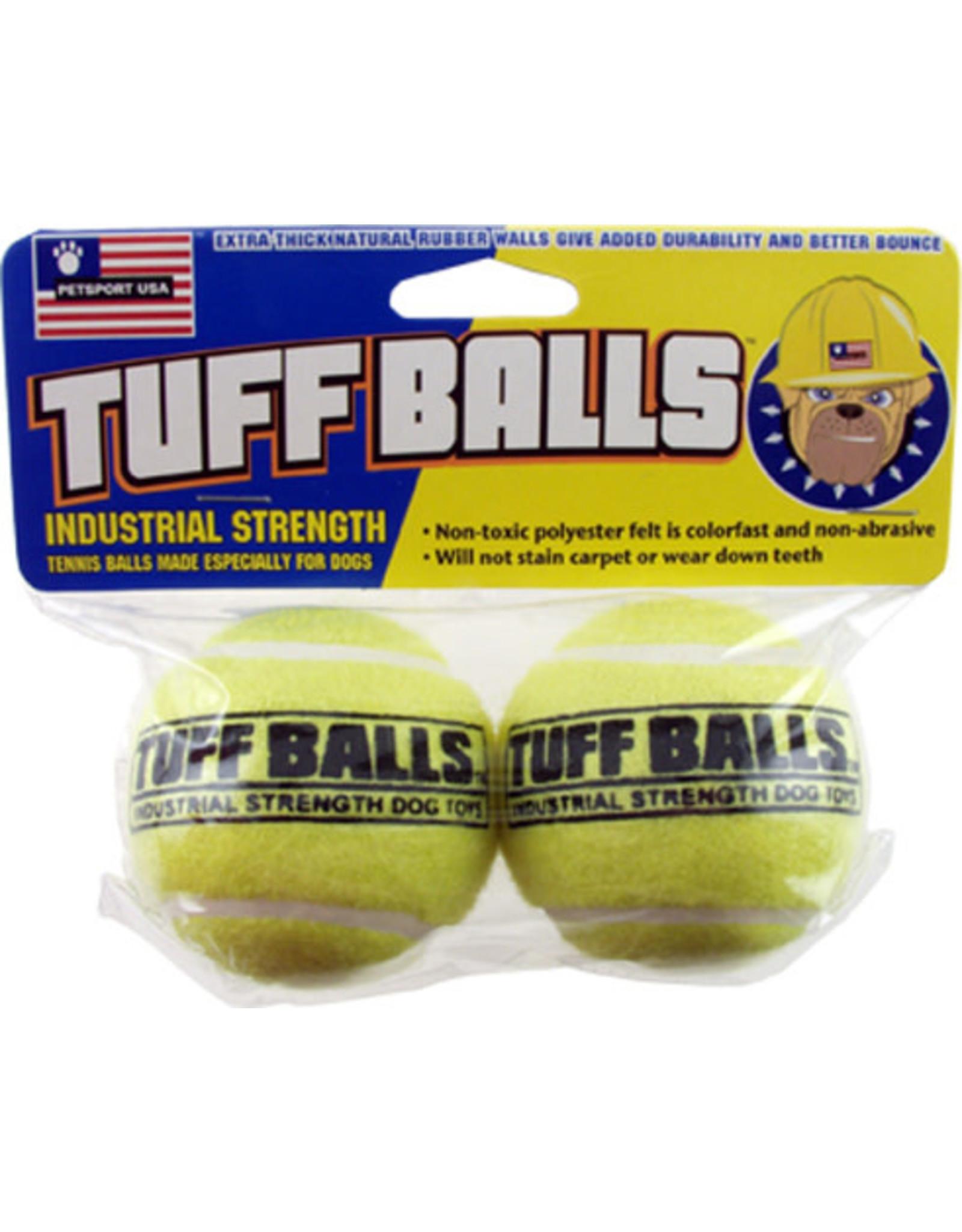 Petsport Tuff Balls: Regular, 2 pk