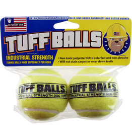 Petsport Tuff Balls: Regular, 2 pk