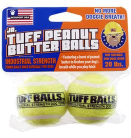 Petsport Jr. Tuff Balls: PB, 2 pk