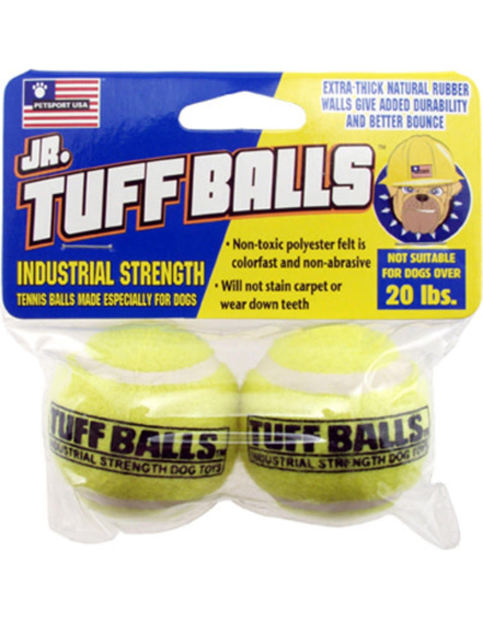Petsport Jr. Tuff Balls: Regular, 2 pk