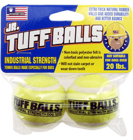 Petsport Jr. Tuff Balls: Regular, 2 pk