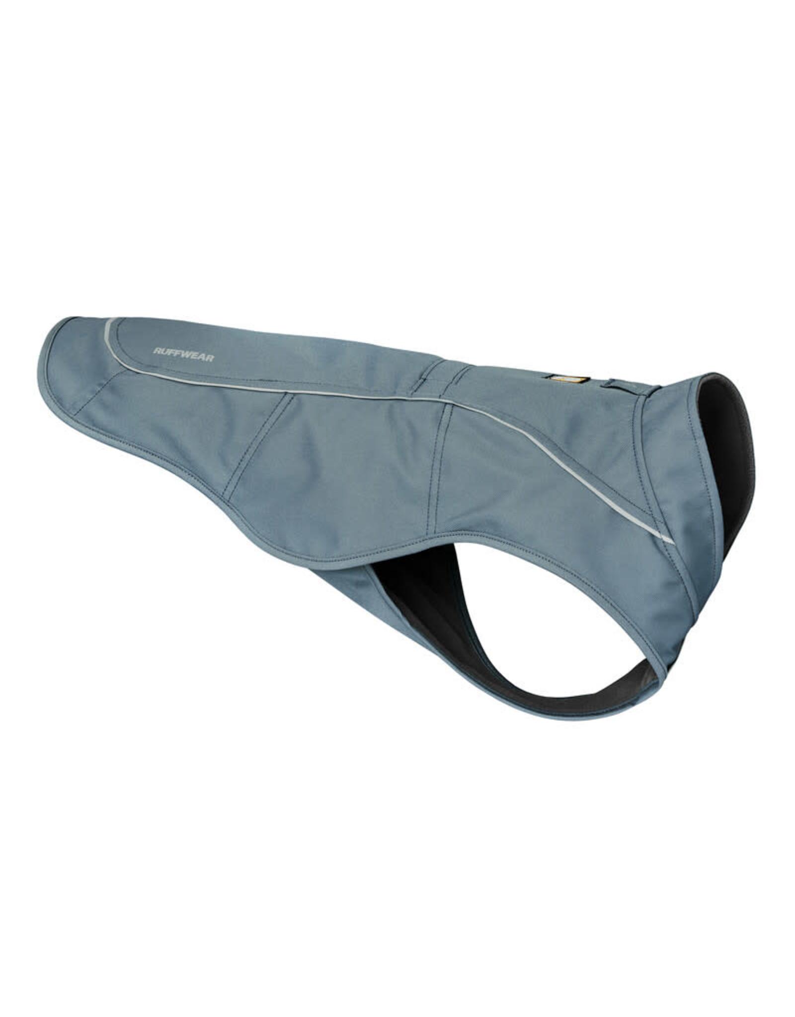 Ruffwear Overcoat Utility Jacket: Slate Blue, M