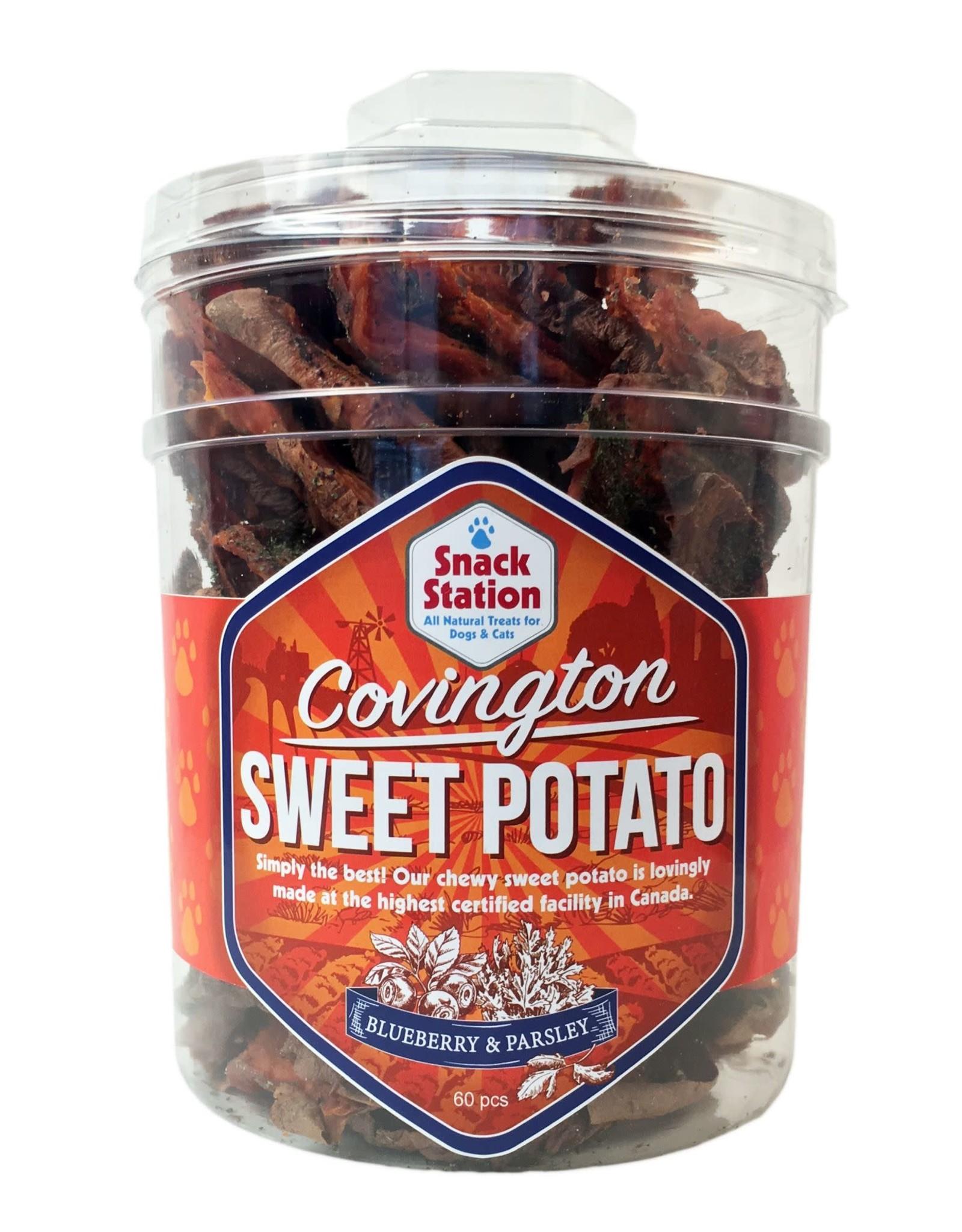 This & That This & That: Sweet Potato Blueberry Chews, each