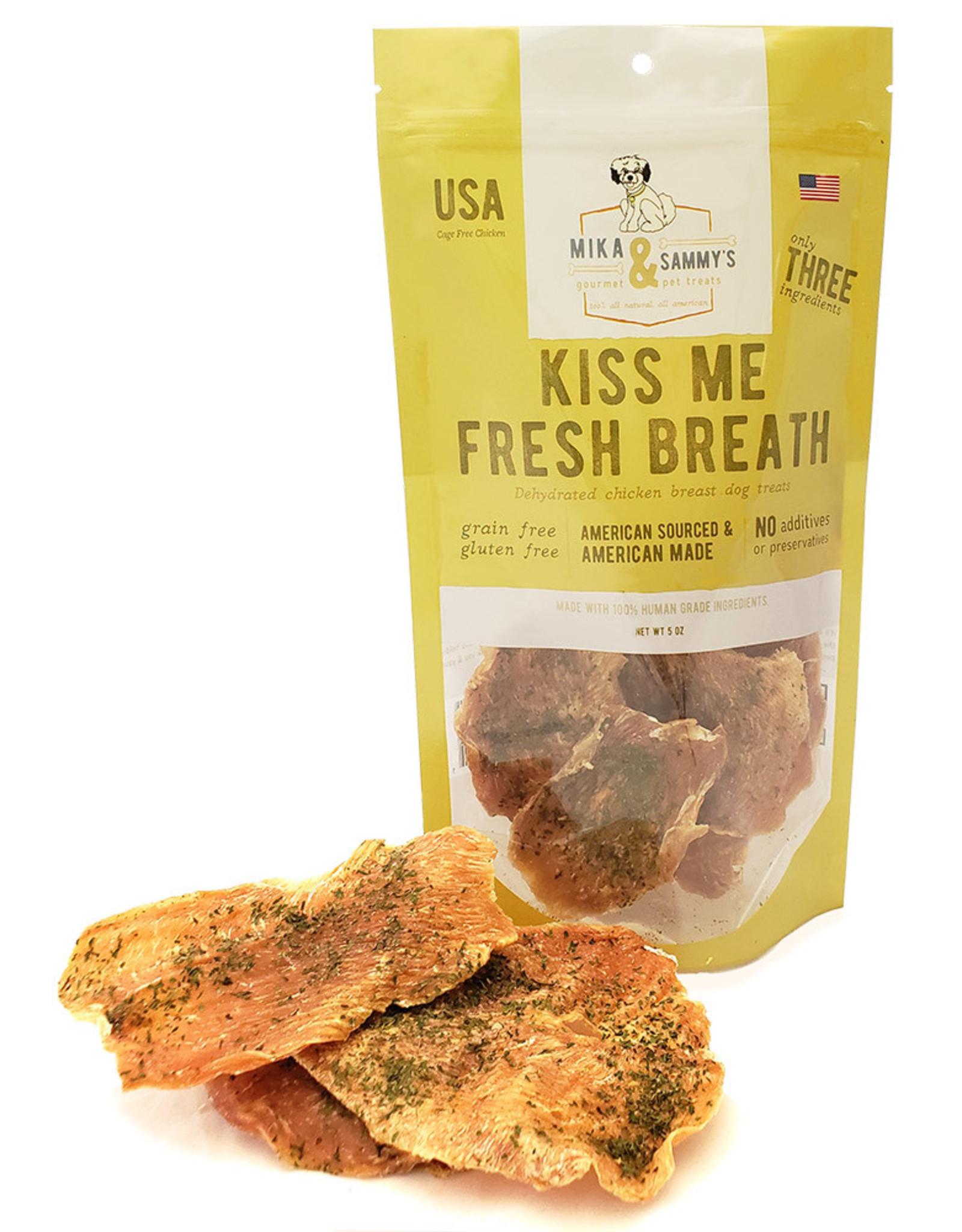 Mika & Sammy's Gourmet Pet Treats Mika & Sammy's: Kiss Me Fresh Breath, 5 oz