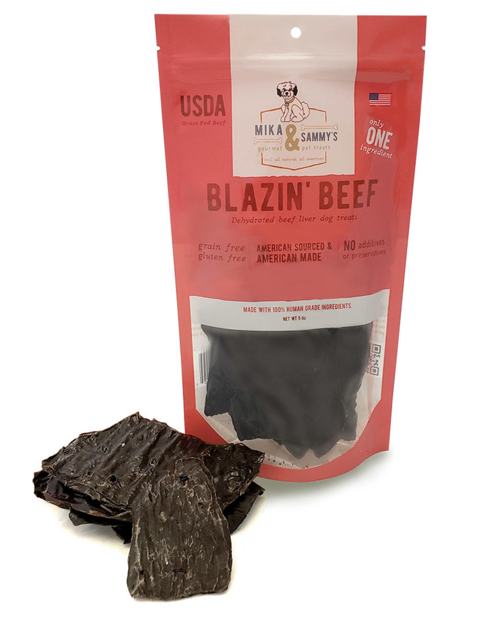 Mika & Sammy's Gourmet Pet Treats Mika & Sammy's: Blazin' Beef, 5 oz