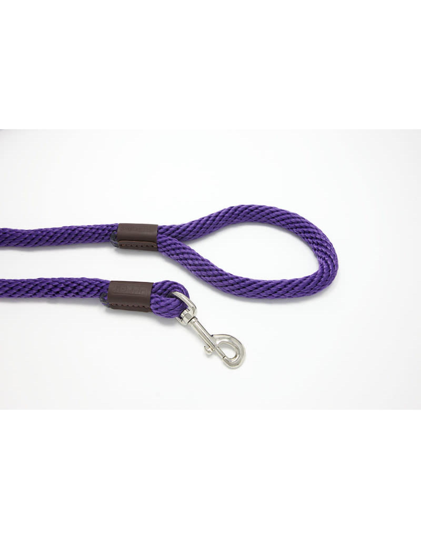 Purple Pebble Leedz: Purple, 4' x 5/8