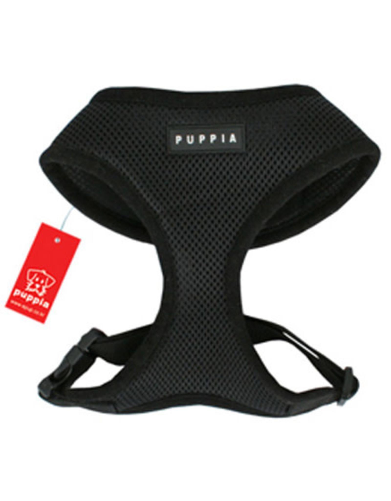 Puppia Puppia Soft Harness: Black, M